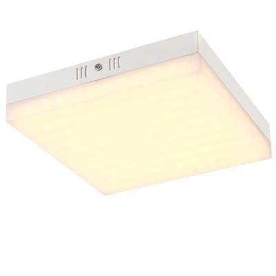 Светильник Globo 41653Квадратные<br>Настенно-потолочные светильники – это универсальные осветительные варианты, которые подходят для вертикального и горизонтального монтажа. В интернет-магазине «Светодом» Вы можете приобрести подобные модели по выгодной стоимости. В нашем каталоге представлены как бюджетные варианты, так и эксклюзивные изделия от производителей, которые уже давно заслужили доверие дизайнеров и простых покупателей.  Настенно-потолочный светильник Globo 41653 станет прекрасным дополнением к основному освещению. Благодаря качественному исполнению и применению современных технологий при производстве эта модель будет радовать Вас своим привлекательным внешним видом долгое время. Приобрести настенно-потолочный светильник Globo 41653 можно, находясь в любой точке России. Компания «Светодом» осуществляет доставку заказов не только по Москве и Екатеринбургу, но и в остальные города.<br><br>S освещ. до, м2: 10<br>Тип лампы: LED<br>Тип цоколя: LED<br>Количество ламп: 1<br>MAX мощность ламп, Вт: 24<br>Диаметр, мм мм: 220<br>Высота, мм: 45<br>Цвет арматуры: серебристый