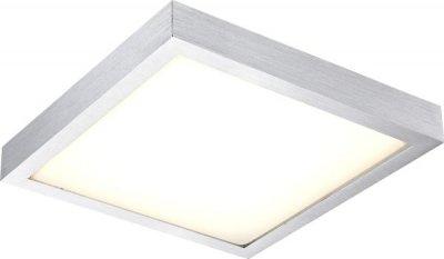 Светильник Globo 41661 TaminaКвадратные<br>Настенно-потолочные светильники – это универсальные осветительные варианты, которые подходят для вертикального и горизонтального монтажа. В интернет-магазине «Светодом» Вы можете приобрести подобные модели по выгодной стоимости. В нашем каталоге представлены как бюджетные варианты, так и эксклюзивные изделия от производителей, которые уже давно заслужили доверие дизайнеров и простых покупателей.  Настенно-потолочный светильник Globo 41661 станет прекрасным дополнением к основному освещению. Благодаря качественному исполнению и применению современных технологий при производстве эта модель будет радовать Вас своим привлекательным внешним видом долгое время. Приобрести настенно-потолочный светильник Globo 41661 можно, находясь в любой точке России.<br><br>S освещ. до, м2: 5<br>Тип лампы: LED - светодиодная<br>Тип цоколя: LED<br>Количество ламп: 1<br>Ширина, мм: 304<br>MAX мощность ламп, Вт: 12<br>Длина, мм: 304<br>Высота, мм: 80<br>Цвет арматуры: серый