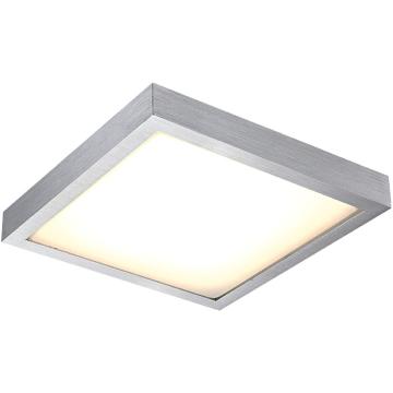 Светильник Globo 41661S TaminaКвадратные<br>Настенно-потолочные светильники – это универсальные осветительные варианты, которые подходят для вертикального и горизонтального монтажа. В интернет-магазине «Светодом» Вы можете приобрести подобные модели по выгодной стоимости. В нашем каталоге представлены как бюджетные варианты, так и эксклюзивные изделия от производителей, которые уже давно заслужили доверие дизайнеров и простых покупателей.  Настенно-потолочный светильник Globo 41661S станет прекрасным дополнением к основному освещению. Благодаря качественному исполнению и применению современных технологий при производстве эта модель будет радовать Вас своим привлекательным внешним видом долгое время. Приобрести настенно-потолочный светильник Globo 41661S можно, находясь в любой точке России.<br><br>S освещ. до, м2: 5<br>Тип лампы: галогенная / LED-светодиодная<br>Тип цоколя: LED<br>Цвет арматуры: серебристый<br>Количество ламп: 1<br>Ширина, мм: 304<br>Длина, мм: 304<br>Высота, мм: 80<br>MAX мощность ламп, Вт: 12