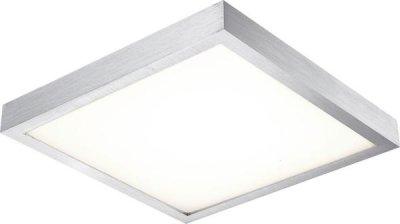 Светильник Globo 41662 TaminaКвадратные<br>Настенно-потолочные светильники – это универсальные осветительные варианты, которые подходят для вертикального и горизонтального монтажа. В интернет-магазине «Светодом» Вы можете приобрести подобные модели по выгодной стоимости. В нашем каталоге представлены как бюджетные варианты, так и эксклюзивные изделия от производителей, которые уже давно заслужили доверие дизайнеров и простых покупателей.  Настенно-потолочный светильник Globo 41662 станет прекрасным дополнением к основному освещению. Благодаря качественному исполнению и применению современных технологий при производстве эта модель будет радовать Вас своим привлекательным внешним видом долгое время. Приобрести настенно-потолочный светильник Globo 41662 можно, находясь в любой точке России.<br><br>S освещ. до, м2: 6<br>Тип лампы: LED - светодиодная<br>Тип цоколя: LED<br>Цвет арматуры: серый<br>Количество ламп: 1<br>Ширина, мм: 354<br>Длина, мм: 354<br>Высота, мм: 80<br>MAX мощность ламп, Вт: 16