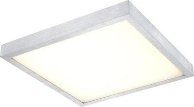 Светильник Globo 41663 TaminaКвадратные<br>Настенно-потолочные светильники – это универсальные осветительные варианты, которые подходят для вертикального и горизонтального монтажа. В интернет-магазине «Светодом» Вы можете приобрести подобные модели по выгодной стоимости. В нашем каталоге представлены как бюджетные варианты, так и эксклюзивные изделия от производителей, которые уже давно заслужили доверие дизайнеров и простых покупателей.  Настенно-потолочный светильник Globo 41663 станет прекрасным дополнением к основному освещению. Благодаря качественному исполнению и применению современных технологий при производстве эта модель будет радовать Вас своим привлекательным внешним видом долгое время. Приобрести настенно-потолочный светильник Globo 41663 можно, находясь в любой точке России.<br><br>S освещ. до, м2: 7<br>Тип лампы: LED - светодиодная<br>Тип цоколя: LED<br>Цвет арматуры: серый<br>Количество ламп: 1<br>Ширина, мм: 404<br>Длина, мм: 404<br>Высота, мм: 85<br>MAX мощность ламп, Вт: 18