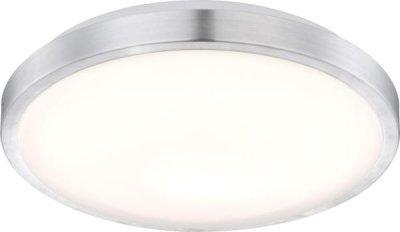 Светильник Globo 41686 RobynКруглые<br>Настенно-потолочные светильники – это универсальные осветительные варианты, которые подходят для вертикального и горизонтального монтажа. В интернет-магазине «Светодом» Вы можете приобрести подобные модели по выгодной стоимости. В нашем каталоге представлены как бюджетные варианты, так и эксклюзивные изделия от производителей, которые уже давно заслужили доверие дизайнеров и простых покупателей.  Настенно-потолочный светильник Globo 41686 станет прекрасным дополнением к основному освещению. Благодаря качественному исполнению и применению современных технологий при производстве эта модель будет радовать Вас своим привлекательным внешним видом долгое время. Приобрести настенно-потолочный светильник Globo 41686 можно, находясь в любой точке России.<br><br>S освещ. до, м2: 7<br>Тип лампы: LED - светодиодная<br>Тип цоколя: LED<br>Цвет арматуры: белый<br>Количество ламп: 1<br>Диаметр, мм мм: 350<br>Высота, мм: 100<br>MAX мощность ламп, Вт: 18