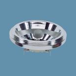 Лампа галогенная Osram 41840 SP-8 HaloSpot 111 75W 12V G53С цоколем g53 - 111мм<br>Лампа HALOSPOT® 111 достигает благодаря выдающимся фокусирующим свойствам отражателя и углу излучения до 4° чрезвычайно большой силы света, чтобы еще больше акцентировать объекты даже при самом ярком освещении.  • Большой средний срок службы 3000 ч  • Мощная осветительная система • Для использования в открытых светильниках согласно IEC 60598-1  • УФ-фильтр  • Колпачок для предотвращения слепящего света и обеспечения простоты использования  • С возможностью диммирования  • Цветовая температура 3000 К<br><br>Тип лампы: галогенная<br>Тип цоколя: G53<br>MAX мощность ламп, Вт: 75<br>Длина, мм: 67