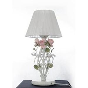 Настольная лампа Mw light 421034801 БукетФлористика<br><br><br>S освещ. до, м2: 2<br>Тип товара: Настольная лампа<br>Тип лампы: Накаливания / энергосбережения / светодиодная<br>Тип цоколя: E27<br>Количество ламп: 1<br>MAX мощность ламп, Вт: 40<br>Диаметр, мм мм: 250<br>Высота, мм: 490<br>Цвет арматуры: белый с золотистой патиной