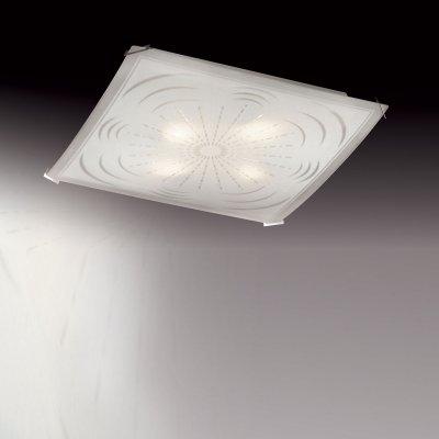 Светильник Сонекс 3112 SN14 074 никель/белый BORGAКвадратные<br><br><br>S освещ. до, м2: 20<br>Тип товара: Светильник настенно-потолочный<br>Скидка, %: 53<br>Тип лампы: накаливания / энергосбережения / LED-светодиодная<br>Тип цоколя: E27<br>Количество ламп: 3<br>Ширина, мм: 400<br>MAX мощность ламп, Вт: 100<br>Длина, мм: 400<br>Цвет арматуры: серый