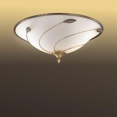 Потолочный светильник Сонекс 3213 бронза/белый BARZOКруглые<br><br><br>S освещ. до, м2: 12<br>Тип товара: Светильник настенно-потолочный<br>Скидка, %: 37<br>Тип лампы: накаливания / энергосбережения / LED-светодиодная<br>Тип цоколя: E27<br>Количество ламп: 3<br>MAX мощность ламп, Вт: 60<br>Диаметр, мм мм: 440<br>Высота, мм: 200<br>Цвет арматуры: бронзовый