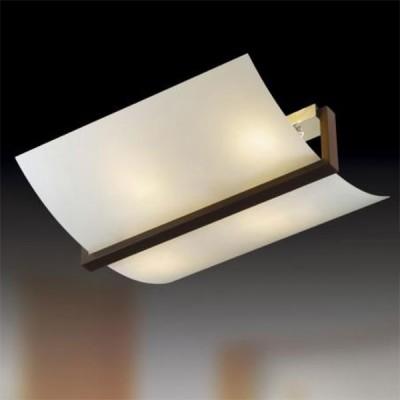 Светильник Сонекс 4216 белый/венге VengaПрямоугольные<br>Настенно потолочный светильник Сонекс (Sonex) 4216 подходит как для установки в вертикальном положении - на стены, так и для установки в горизонтальном - на потолок. Для установки настенно потолочных светильников на натяжной потолок необходимо использовать светодиодные лампы LED, которые экономнее ламп Ильича (накаливания) в 10 раз, выделяют мало тепла и не дадут расплавиться Вашему потолку.<br><br>S освещ. до, м2: 16<br>Тип товара: Светильник настенно-потолочный<br>Тип лампы: накаливания / энергосбережения / LED-светодиодная<br>Тип цоколя: E14<br>Количество ламп: 4<br>Ширина, мм: 470<br>MAX мощность ламп, Вт: 60<br>Длина, мм: 530<br>Цвет арматуры: черный
