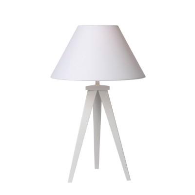Светильник Lucide 42502/81/31Современные настольные лампы модерн<br>Настольная лампа – это не просто источник дополнительного освещения, но и оригинальный элемент декора. Его можно установить в спальне, гостиной, кабинете и других комнатах. Интернет-магазин «Светодом» предлагает настольные лампы разных стилей по доступным ценам. Благодаря большому ассортименту Вы обязательно найдете в нашем каталоге именно ту модель, которую искали.   Настольная лампа Lucide 42502/81/31 – прекрасный вариант для завершения интерьера. Ее можно включить одновременно с люстрой для более яркого освещения или без нее для создания уютной атмосферы, настраивающей на отдых.   Купить настольную лампу Lucide 42502/81/31 Вы можете с помощью виртуальной «Корзины» или по контактным номерам, указанным на сайте.<br><br>Тип лампы: накал-я - энергосбер-я<br>Тип цоколя: E27<br>Цвет арматуры: белый<br>Количество ламп: 1<br>Диаметр, мм мм: 360<br>Высота, мм: 580<br>MAX мощность ламп, Вт: 18