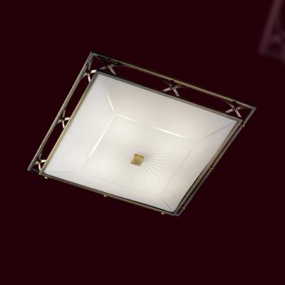 Светильник Сонекс 4261 бронза Villaквадратные светильники<br>Настенно потолочный светильник Сонекс (Sonex) 4261  подходит как для установки в вертикальном положении - на стены, так и для установки в горизонтальном - на потолок. Для установки настенно потолочных светильников на натяжной потолок необходимо использовать светодиодные лампы LED, которые экономнее ламп Ильича (накаливания) в 10 раз, выделяют мало тепла и не дадут расплавиться Вашему потолку.<br><br>S освещ. до, м2: 16<br>Тип лампы: накаливания / энергосбережения / LED-светодиодная<br>Тип цоколя: E27<br>Цвет арматуры: бронзовый<br>Количество ламп: 4<br>Ширина, мм: 435<br>Высота, мм: 435<br>MAX мощность ламп, Вт: 60