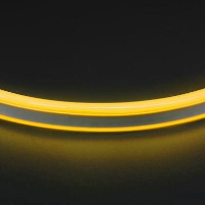 Светильник Lightstar 430106Светодиодная лента влагозащищенная<br>Лента гибкая неоновая 220V ;120LED/m; Световой поток: 6-7lm/chip;<br><br>Тип лампы: LED - светодиодная<br>Цвет арматуры: желтый<br>Количество ламп: 120 LED/м<br>Ширина, мм: 8<br>Длина, мм: 50000<br>Высота, мм: 15<br>MAX мощность ламп, Вт: 9.6 Вт/м