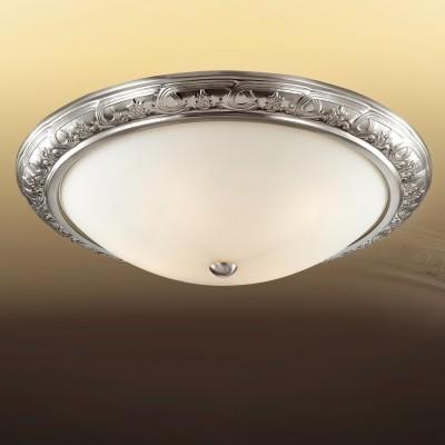 Светильник Сонекс 4305 VISTКруглые<br>Настенно-потолочные светильники – это универсальные осветительные варианты, которые подходят для вертикального и горизонтального монтажа. В интернет-магазине «Светодом» Вы можете приобрести подобные модели по выгодной стоимости. В нашем каталоге представлены как бюджетные варианты, так и эксклюзивные изделия от производителей, которые уже давно заслужили доверие дизайнеров и простых покупателей.  Настенно-потолочный светильник Сонекс 4305 станет прекрасным дополнением к основному освещению. Благодаря качественному исполнению и применению современных технологий при производстве эта модель будет радовать Вас своим привлекательным внешним видом долгое время. Приобрести настенно-потолочный светильник Сонекс 4305 можно, находясь в любой точке России.<br><br>S освещ. до, м2: 9<br>Тип лампы: Накаливания / энергосбережения / светодиодная<br>Тип цоколя: E14<br>Цвет арматуры: серебристый<br>Количество ламп: 3<br>Диаметр, мм мм: 450<br>Высота, мм: 140<br>MAX мощность ламп, Вт: 60