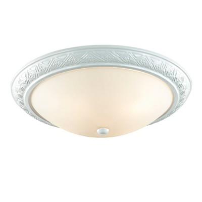 Светильник Сонекс 4306 COLTКруглые<br><br><br>S освещ. до, м2: 9<br>Тип товара: Настенно-потолочный светильник<br>Тип лампы: Накаливания / энергосбережения / светодиодная<br>Тип цоколя: E14<br>Количество ламп: 3<br>MAX мощность ламп, Вт: 60<br>Диаметр, мм мм: 450<br>Высота, мм: 140<br>Цвет арматуры: белый