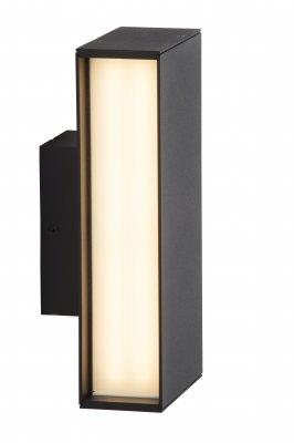 Светильник уличный настенный Brilliant G43180/06 HollowНастенные<br>Обеспечение качественного уличного освещения – важная задача для владельцев коттеджей. Компания «Светодом» предлагает современные светильники, которые порадуют Вас отличным исполнением. В нашем каталоге представлена продукция известных производителей, пользующихся популярностью благодаря высокому качеству выпускаемых товаров.   Уличный светильник Brilliant G43180/06 не просто обеспечит качественное освещение, но и станет украшением Вашего участка. Модель выполнена из современных материалов и имеет влагозащитный корпус, благодаря которому ей не страшны осадки.   Купить уличный светильник Brilliant G43180/06, представленный в нашем каталоге, можно с помощью онлайн-формы для заказа. Чтобы задать имеющиеся вопросы, звоните нам по указанным телефонам. Мы доставим Ваш заказ не только в Москву и Екатеринбург, но и другие города.<br><br>Тип лампы: LED - светодиодная<br>Тип цоколя: LED<br>Количество ламп: 2х48 LEDs<br>Ширина, мм: 100<br>MAX мощность ламп, Вт: 8<br>Высота, мм: 200<br>Цвет арматуры: черный