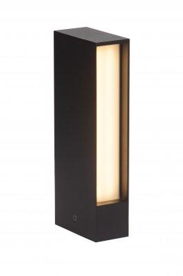 Светильник уличный Brilliant G43184/06 HollowОдиночные фонари<br>Зачастую мы ищем идеальное освещение для своего дома и уделяем этому достаточно много времени. Так, например, если нам нужен светильник с количеством ламп - 2х48 LEDs и цвет плафонов должен быть - белый, а материал плафонов только пластик! То нам, как вариант, подойдет модель - светильник уличный Brilliant G43184/06.<br><br>Тип товара: Светильник уличный<br>Тип лампы: LED - светодиодная<br>Тип цоколя: LED<br>Количество ламп: 2х48 LEDs<br>Ширина, мм: 100<br>MAX мощность ламп, Вт: 8<br>Высота, мм: 250<br>Цвет арматуры: черный