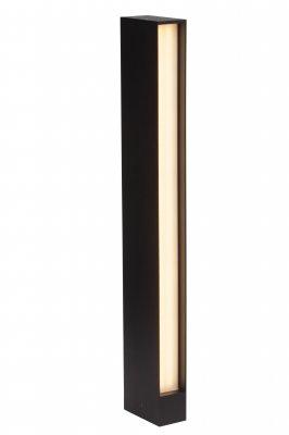 Светильник уличный столб Brilliant G43185/06 HollowОдиночные фонари<br><br><br>Тип товара: Светильник уличный<br>Тип лампы: LED - светодиодная<br>Тип цоколя: LED<br>Количество ламп: 2х120 LEDs<br>Ширина, мм: 100<br>MAX мощность ламп, Вт: 20<br>Высота, мм: 600<br>Цвет арматуры: черный