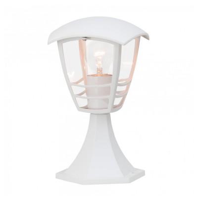 Уличный светильник Brilliant 43384/05 RileyФонари на опору<br>Обеспечение качественного уличного освещения – важная задача для владельцев коттеджей. Компания «Светодом» предлагает современные светильники, которые порадуют Вас отличным исполнением. В нашем каталоге представлена продукция известных производителей, пользующихся популярностью благодаря высокому качеству выпускаемых товаров.   Уличный светильник Brilliant 43384/05 не просто обеспечит качественное освещение, но и станет украшением Вашего участка. Модель выполнена из современных материалов и имеет влагозащитный корпус, благодаря которому ей не страшны осадки.   Купить уличный светильник Brilliant 43384/05, представленный в нашем каталоге, можно с помощью онлайн-формы для заказа. Чтобы задать имеющиеся вопросы, звоните нам по указанным телефонам. Мы доставим Ваш заказ не только в Москву и Екатеринбург, но и другие города.<br><br>Тип лампы: накал-я - энергосбер-я<br>Тип цоколя: E27<br>Количество ламп: 1<br>MAX мощность ламп, Вт: 40<br>Диаметр, мм мм: 160<br>Высота, мм: 310<br>Цвет арматуры: белый