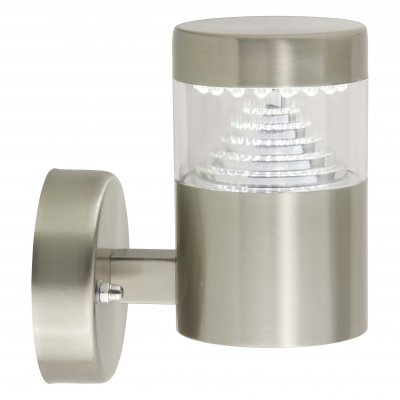Светильник Brilliant G43481/82 AvonУличные настенные светильники<br>Обеспечение качественного уличного освещения – важная задача для владельцев коттеджей. Компания «Светодом» предлагает современные светильники, которые порадуют Вас отличным исполнением. В нашем каталоге представлена продукция известных производителей, пользующихся популярностью благодаря высокому качеству выпускаемых товаров.   Уличный светильник Brilliant G43481/82 не просто обеспечит качественное освещение, но и станет украшением Вашего участка. Модель выполнена из современных материалов и имеет влагозащитный корпус, благодаря которому ей не страшны осадки.   Купить уличный светильник Brilliant G43481/82, представленный в нашем каталоге, можно с помощью онлайн-формы для заказа. Чтобы задать имеющиеся вопросы, звоните нам по указанным телефонам.<br><br>S освещ. до, м2: до 2<br>Тип лампы: LED - светодиодная<br>Тип цоколя: LED<br>Цвет арматуры: серебристый<br>Количество ламп: 30<br>Диаметр, мм мм: 75<br>Высота, мм: 150<br>MAX мощность ламп, Вт: 0,12