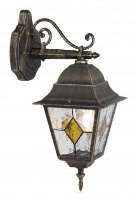 Светильник уличный Brilliant 43882/86 JasonНастенные<br>Зачастую мы ищем идеальное освещение для своего дома и уделяем этому достаточно много времени. Так, например, если нам нужен светильник с количеством ламп - 1 и цвет плафонов должен быть - неокрашенный, а материал плафонов только стекло! То нам, как вариант, подойдет модель - светильник уличный Brilliant 43882/86.<br><br>S освещ. до, м2: до 6<br>Тип товара: Светильник уличный<br>Тип лампы: накаливания / энергосбережения / LED-светодиодная<br>Тип цоколя: E27<br>Количество ламп: 1<br>Ширина, мм: 180<br>MAX мощность ламп, Вт: 100<br>Высота, мм: 440<br>Цвет арматуры: золотой