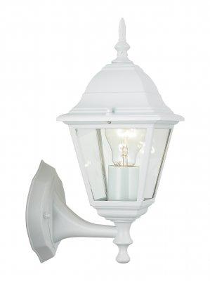 Светильник уличный Brilliant 44281/05 NewportНастенные<br>Зачастую мы ищем идеальное освещение для своего дома и уделяем этому достаточно много времени. Так, например, если нам нужен светильник с количеством ламп - 1 и цвет плафонов должен быть - неокрашенный, а материал плафонов только стекло! То нам, как вариант, подойдет модель - светильник уличный Brilliant 44281/05.<br><br>S освещ. до, м2: до 4<br>Тип лампы: накаливания / энергосбережения / LED-светодиодная<br>Тип цоколя: E27<br>Количество ламп: 1<br>MAX мощность ламп, Вт: 60<br>Высота, мм: 340<br>Цвет арматуры: белый