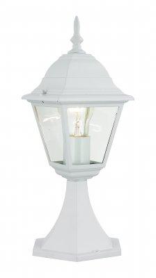 Светильник уличный Brilliant 44284/05 NewportФонари на столб<br>Зачастую мы ищем идеальное освещение для своего дома и уделяем этому достаточно много времени. Так, например, если нам нужен светильник с количеством ламп - 1 и цвет плафонов должен быть - неокрашенный, а материал плафонов только стекло! То нам, как вариант, подойдет модель - светильник уличный Brilliant 44284/05.<br><br>S освещ. до, м2: до 4<br>Тип лампы: накаливания / энергосбережения / LED-светодиодная<br>Тип цоколя: E27<br>Количество ламп: 1<br>MAX мощность ламп, Вт: 60<br>Диаметр, мм мм: 130<br>Высота, мм: 410<br>Цвет арматуры: белый