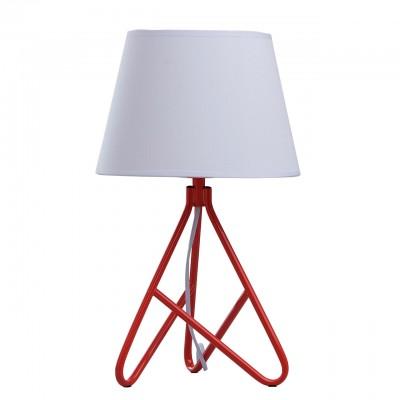 Настольная лампа Mw light 446031001 БеркСовременные<br>Описание модели 446031001: Настольная лампа из коллекции «Берк» - это сочетание простых форм и геометрически точных линий в стиле минимализм. Металлическое основание светильника с округлыми линиями углов создает выигрышное яркое сочетание в тандеме с текстильным абажуром. В зависимости от особенностей интерьера есть возможность подобрать разные цветовые вариации абажуров: насыщенный салатовый, освежающий белый, спокойный черный, и под стать им – оттенки основания, которые представлены в салатовом, красном и в цвете хрома соответственно.<br><br>S освещ. до, м2: 2<br>Тип лампы: накаливания / энергосбережения / LED-светодиодная<br>Тип цоколя: E27<br>Цвет арматуры: красный<br>Количество ламп: 1<br>Диаметр, мм мм: 250<br>Высота, мм: 420<br>MAX мощность ламп, Вт: 40