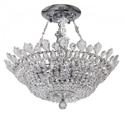 Светильник Mw-light 447010912Потолочные<br><br><br>Тип лампы: Накаливания / энергосбережения / светодиодная<br>Тип цоколя: E14<br>Цвет арматуры: серебристый<br>Количество ламп: 12<br>Диаметр, мм мм: 600<br>Высота, мм: 550<br>MAX мощность ламп, Вт: 40