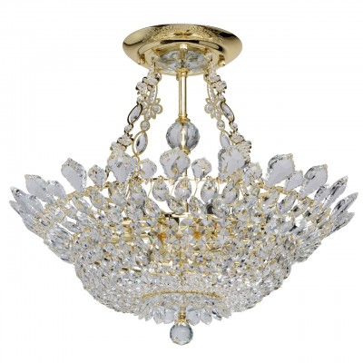 Светильник Mw-light 447011012Потолочные<br><br><br>Тип лампы: Накаливания / энергосбережения / светодиодная<br>Тип цоколя: E14<br>Цвет арматуры: золотой<br>Количество ламп: 12<br>Диаметр, мм мм: 600<br>Высота, мм: 520<br>MAX мощность ламп, Вт: 40