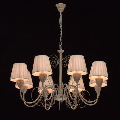 Светильник De Markt 448013308Подвесные<br><br><br>Тип лампы: Накаливания / энергосбережения / светодиодная<br>Тип цоколя: E14<br>Количество ламп: 8<br>Диаметр, мм мм: 840<br>Высота, мм: 890