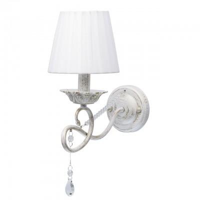 Светильник De Markt 448023101Классические<br><br><br>Тип лампы: Накаливания / энергосбережения / светодиодная<br>Тип цоколя: E14<br>Цвет арматуры: белый/золотой<br>Количество ламп: 1<br>Ширина, мм: 150<br>Длина, мм: 380<br>Высота, мм: 260<br>MAX мощность ламп, Вт: 40