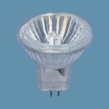 """Лампа галогенная Osram 44890WFL Decostar 35S 36*20W 12V GU4 закр.С отражателем<br>Лампы OSRAM DECOSTAR® 35, стандартные, с защитным декоративным стекломПрозрачное защитное декоративное стекло лампы OSRAM DECOSTAR® 35 защищает покрытие отражателя от пыли, влаги и от прикосновений. Блеск и """"перламутровое"""" покрытие фацетированного отражателя сохраняются на протяжении всего срока службы лампы.- защищающее от вредных УФ-составляющих в световом излучении стекло- соответствие строжайшим нормам по защите от ультрафиолетового излучения (Erythem, NIOSH) также и ламп без защитного стекла- плоское, прозрачное защитное стекло обеспечивает возможность использования в открытых светильниках согласно МЭК 60598- уменьшение эффекта выгорания - интерференционный отражатель снижает тепловую нагрузку в световом пучке на 66%- цветовая температура ок. 3000К Классификация: W15 lm90 d60 l105 E27 25 lm220 d60 l105 E27 W40 lm420 d60 l105 E27 W60 lm720 d60 l105 E27 W75 lm940 d60 l105 E27 W100 lm1360 d60 l105 E27 W150 lm2200 d65 l123 E27 W200 lm3100 d80 l156 E27  Сокращения: W-мощность в вт, lm-световой поток в люменах, d-диаметр в mm, l-длина в мм, E27,E14...-цоколи (стандартный,миньон...)<br><br>Тип товара: лампа освещения<br>Тип лампы: галогенная<br>Тип цоколя: G4<br>MAX мощность ламп, Вт: 20<br>Длина, мм: 40"""