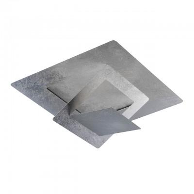 Светильник Regenbogen 452012501Потолочные<br>Завершить интерьер стильной современной обстановки и стать его изюминкой под силу оригинальному светильнику из коллекции «Галатея». Его дизайн до крайности прост и минималистичен: металлическое основание  трендового оттенка, имитирующего серебро, и источники света – светодиоды. Главная особенность светильника в том, что его можно использовать как в качестве традиционной потолочной люстры, так и в качестве декоративного бра. Подобная многофункциональность – очень ценное преимущество в мире света.<br><br>S освещ. до, м2: 12<br>Цветовая t, К: 3000<br>Тип лампы: LED-светодиодная<br>Тип цоколя: LED<br>Цвет арматуры: серебристый<br>Количество ламп: 1<br>Ширина, мм: 500<br>Длина, мм: 500<br>Высота, мм: 100