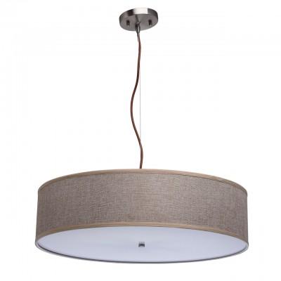Люстра Mw light 453011206 ДафнаПодвесные<br>Описание модели 453011206: Люстра «Дафна» — прекрасное решение для освещения интерьера в скандинавском стиле. Абажур из домотканого полотна натурального льняного цвета смотрится атмосферно и уютно. Источники света снизу закрыты вставкой из акрила, что дает слегка приглушенное, интимное освещение. Идеальный вариант для зонального освещения.<br><br>Установка на натяжной потолок: Да<br>S освещ. до, м2: 18<br>Крепление: Планка<br>Тип лампы: накаливания / энергосбережения / LED-светодиодная<br>Тип цоколя: E14<br>Количество ламп: 6<br>Диаметр, мм мм: 600<br>Длина цепи/провода, мм: 1600<br>Высота, мм: 1780<br>MAX мощность ламп, Вт: 60