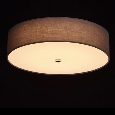 Mw light 453011301 СветильникПотолочные<br><br><br>Установка на натяжной потолок: Да<br>S освещ. до, м2: 16<br>Цветовая t, К: 3000<br>Тип лампы: LED<br>Тип цоколя: LED<br>MAX мощность ламп, Вт: 40<br>Диаметр, мм мм: 500<br>Высота, мм: 120