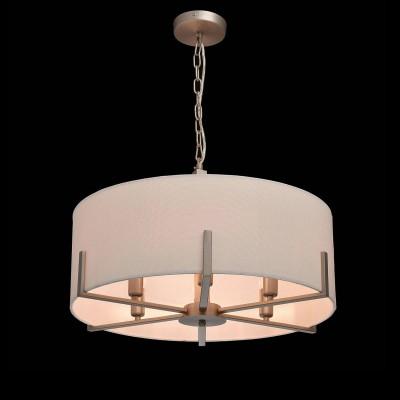 Mw light 453011906 СветильникПодвесные<br><br><br>Установка на натяжной потолок: Да<br>S освещ. до, м2: 12<br>Тип лампы: Накаливания / энергосбережения / светодиодная<br>Тип цоколя: E14<br>Количество ламп: 6<br>MAX мощность ламп, Вт: 40<br>Диаметр, мм мм: 570<br>Высота, мм: 450 - 700<br>Цвет арматуры: серебристый