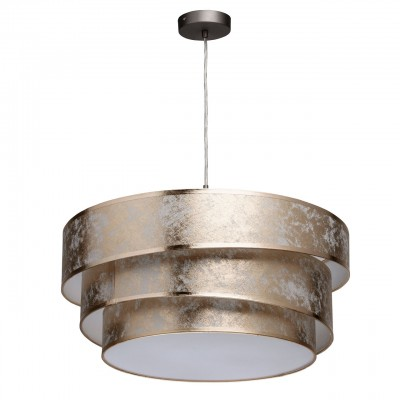454011003 Mw light СветильникПодвесные<br><br><br>Установка на натяжной потолок: Да<br>S освещ. до, м2: 6<br>Тип лампы: Накаливания / энергосбережения / светодиодная<br>Тип цоколя: E27<br>Количество ламп: 3<br>Диаметр, мм мм: 520<br>Высота, мм: 1100
