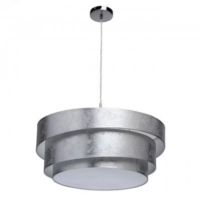 454011103 Mw light СветильникПодвесные<br><br><br>Установка на натяжной потолок: Да<br>S освещ. до, м2: 9<br>Тип лампы: Накаливания / энергосбережения / светодиодная<br>Тип цоколя: E27<br>Количество ламп: 3<br>MAX мощность ламп, Вт: 60<br>Диаметр, мм мм: 520<br>Высота, мм: 1100