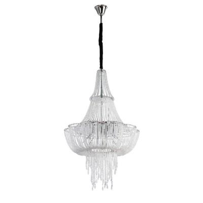 Люстра Chiaro 458010320 СюзаннаПодвесные<br>Описание модели 458010320: Можно бесконечно смотреть, как переливается свет в хрустальных гранях у светильника Сюзанна из стиля Кристал. Великолепная люстра предназначена для такого интерьера, где роскошь и красота сплетаются в едином ансамбле стиля, где присутствуют классические элементы оформления пространства или предметы из французских стилей барокко и рококо. Металлическая хромированная арматура представлена в форме собранного к низу балдахина, на нити которого нанизаны хрустальные бусины. Красиво скомпонованные блистающие подвески с каплевидными хрусталиками элегантно ниспадают из центра светильника. Неповторимая люстра Сюзанна оснащена галогеновыми лампами и свободно осветит интерьер площадью до 30 кв.м. Благодаря оригинальной форме и качественному хрустальному богатству этот шедевр превращается в благородную драгоценность интерьера!<br><br>Установка на натяжной потолок: Да<br>S освещ. до, м2: 26<br>Крепление: Крюк<br>Тип лампы: галогенная / LED-светодиодная<br>Тип цоколя: G4<br>Количество ламп: 20<br>MAX мощность ламп, Вт: 20<br>Диаметр, мм мм: 650<br>Длина цепи/провода, мм: 800<br>Высота, мм: 2000