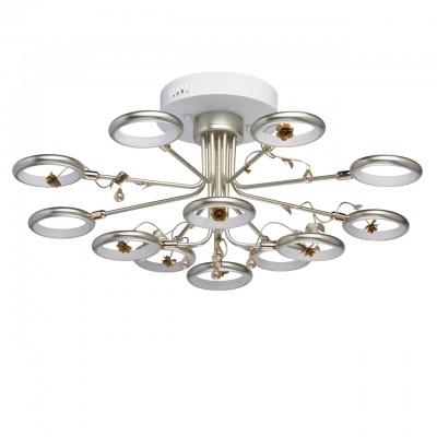 Mw light 459011512 СветильникПотолочные<br><br><br>S освещ. до, м2: 29<br>Тип лампы: LED<br>Тип цоколя: LED<br>MAX мощность ламп, Вт: 72<br>Диаметр, мм мм: 720<br>Высота, мм: 330