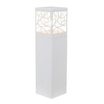 Светильник уличный Brilliant 46394/05 WhitneyОдиночные столбы<br>Зачастую мы ищем идеальное освещение для своего дома и уделяем этому достаточно много времени. Так, например, если нам нужен светильник с количеством ламп - 1 и цвет плафонов должен быть - неокрашенный, а материал плафонов только пластик! То нам, как вариант, подойдет модель - светильник уличный Brilliant 46394/05.<br><br>S освещ. до, м2: до 4<br>Тип лампы: накаливания / энергосбережения / LED-светодиодная<br>Тип цоколя: E27<br>Количество ламп: 1<br>Ширина, мм: 150<br>MAX мощность ламп, Вт: 60<br>Высота, мм: 590<br>Цвет арматуры: белый