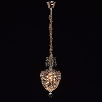 Chiaro Бриз 464017601 ЛюстраОдиночные<br><br><br>S освещ. до, м2: 2<br>Тип лампы: Накаливания / энергосбережения / светодиодная<br>Тип цоколя: E14<br>Количество ламп: 1<br>MAX мощность ламп, Вт: 40<br>Диаметр, мм мм: 200<br>Высота, мм: 600 - 1100