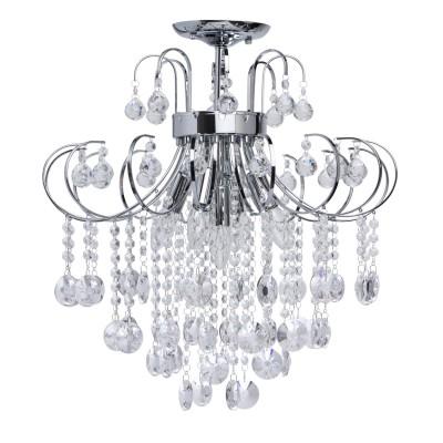 Mw light 464017805 ЛюстраПотолочные<br><br><br>Установка на натяжной потолок: Да<br>S освещ. до, м2: 15<br>Тип лампы: Накаливания / энергосбережения / светодиодная<br>Тип цоколя: E14<br>Количество ламп: 5<br>MAX мощность ламп, Вт: 60<br>Диаметр, мм мм: 520<br>Высота, мм: 570<br>Цвет арматуры: бронзовый