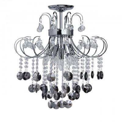 Mw light 464017905 Люстрахрустальные потолочные люстры<br><br><br>Установка на натяжной потолок: Да<br>S освещ. до, м2: 15<br>Тип лампы: Накаливания / энергосбережения / светодиодная<br>Тип цоколя: E14<br>Цвет арматуры: бронзовый<br>Количество ламп: 5<br>Диаметр, мм мм: 520<br>Высота, мм: 570<br>MAX мощность ламп, Вт: 60
