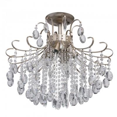 Светильник De Markt 464018206Потолочные<br><br><br>Тип лампы: Накаливания / энергосбережения / светодиодная<br>Тип цоколя: E14<br>Количество ламп: 5<br>Диаметр, мм мм: 500<br>Высота, мм: 470