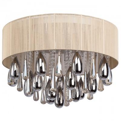 Светильник Mw-light 465014915Потолочные<br><br><br>Тип лампы: Накаливания / энергосбережения / светодиодная<br>Цвет арматуры: серебристый<br>Диаметр, мм мм: 700<br>Высота, мм: 450