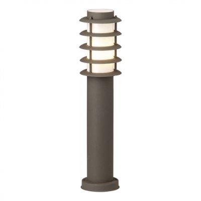 Светильник уличный Brilliant 46884/55 MaloБольшие фонари<br>Зачастую мы ищем идеальное освещение для своего дома и уделяем этому достаточно много времени. Так, например, если нам нужен светильник с количеством ламп - 1 и цвет плафонов должен быть - неокрашенный, а материал плафонов только пластик! То нам, как вариант, подойдет модель - светильник уличный Brilliant 46884/55.<br><br>S освещ. до, м2: до 2<br>Тип лампы: накаливания / энергосбережения / LED-светодиодная<br>Тип цоколя: E27<br>Цвет арматуры: коричневый<br>Количество ламп: 1<br>Диаметр, мм мм: 120<br>Высота, мм: 450<br>MAX мощность ламп, Вт: 40