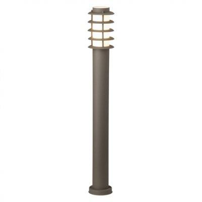 Светильник уличный Brilliant 46885/55 MaloУличные светильники-столбы<br>Зачастую мы ищем идеальное освещение для своего дома и уделяем этому достаточно много времени. Так, например, если нам нужен светильник с количеством ламп - 1 и цвет плафонов должен быть - неокрашенный, а материал плафонов только пластик! То нам, как вариант, подойдет модель - светильник уличный Brilliant 46885/55.<br><br>S освещ. до, м2: до 2<br>Тип лампы: накаливания / энергосбережения / LED-светодиодная<br>Тип цоколя: E27<br>Цвет арматуры: коричневый<br>Количество ламп: 1<br>Диаметр, мм мм: 120<br>Высота, мм: 1000<br>MAX мощность ламп, Вт: 40