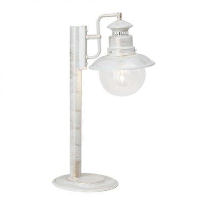 Светильник уличный Brilliant 46984/30 ArtuУличные светильники-столбы<br>Зачастую мы ищем идеальное освещение для своего дома и уделяем этому достаточно много времени. Так, например, если нам нужен светильник с количеством ламп - 1 и цвет плафонов должен быть - неокрашенный, а материал плафонов только стекло! То нам, как вариант, подойдет модель - светильник уличный Brilliant 46984/30.<br><br>S освещ. до, м2: до 4<br>Тип лампы: накаливания / энергосбережения / LED-светодиодная<br>Тип цоколя: E27<br>Цвет арматуры: белый<br>Количество ламп: 1<br>Высота, мм: 535<br>MAX мощность ламп, Вт: 60