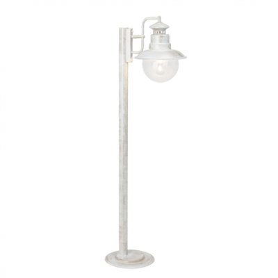Светильник уличный Brilliant 46985/30 ArtuОдиночные столбы<br>Зачастую мы ищем идеальное освещение для своего дома и уделяем этому достаточно много времени. Так, например, если нам нужен светильник с количеством ламп - 1 и цвет плафонов должен быть - неокрашенный, а материал плафонов только стекло! То нам, как вариант, подойдет модель - светильник уличный Brilliant 46985/30.<br><br>S освещ. до, м2: до 4<br>Тип лампы: накаливания / энергосбережения / LED-светодиодная<br>Тип цоколя: E27<br>Количество ламп: 1<br>MAX мощность ламп, Вт: 60<br>Высота, мм: 990<br>Цвет арматуры: белый