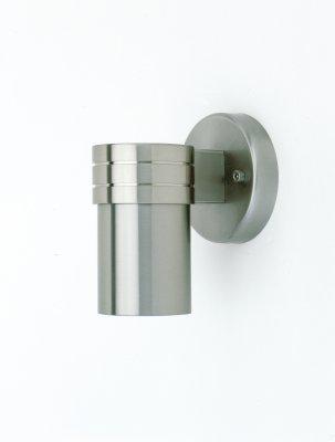 Светильник уличный Brilliant G47181/82 MidiНастенные<br>Зачастую мы ищем идеальное освещение для своего дома и уделяем этому достаточно много времени. Так, например, если нам нужен светильник с количеством ламп - 1 и цвет плафонов должен быть - сталь, а материал плафонов только сталь! То нам, как вариант, подойдет модель - светильник уличный Brilliant G47181/82.<br><br>S освещ. до, м2: до 2<br>Тип лампы: галогенная / LED-светодиодная<br>Тип цоколя: GU10<br>Количество ламп: 1<br>MAX мощность ламп, Вт: 35<br>Диаметр, мм мм: 60<br>Высота, мм: 140<br>Цвет арматуры: серебристый