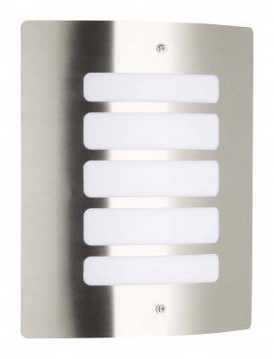 Светильник настенный Brilliant 47682/82 ToddНастенные<br>Обеспечение качественного уличного освещения – важная задача для владельцев коттеджей. Компания «Светодом» предлагает современные светильники, которые порадуют Вас отличным исполнением. В нашем каталоге представлена продукция известных производителей, пользующихся популярностью благодаря высокому качеству выпускаемых товаров.   Уличный светильник Brilliant 47682/82 не просто обеспечит качественное освещение, но и станет украшением Вашего участка. Модель выполнена из современных материалов и имеет влагозащитный корпус, благодаря которому ей не страшны осадки.   Купить уличный светильник Brilliant 47682/82, представленный в нашем каталоге, можно с помощью онлайн-формы для заказа. Чтобы задать имеющиеся вопросы, звоните нам по указанным телефонам.<br><br>S освещ. до, м2: до 4<br>Тип лампы: накаливания / энергосбережения / LED-светодиодная<br>Тип цоколя: E27<br>Количество ламп: 1<br>Ширина, мм: 240<br>MAX мощность ламп, Вт: 60<br>Высота, мм: 290<br>Цвет арматуры: серебристый